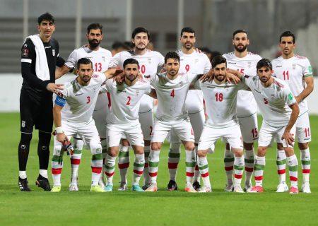 ترکیب تیم ملی ایران در مقابل عراق اعلام شد