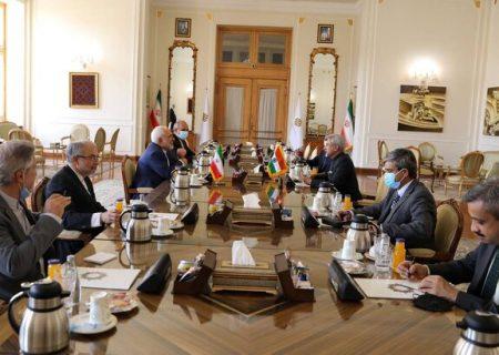 دیدار وزیر خارجه هند با ظریف